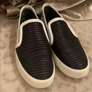 Vince Black White Sneakers